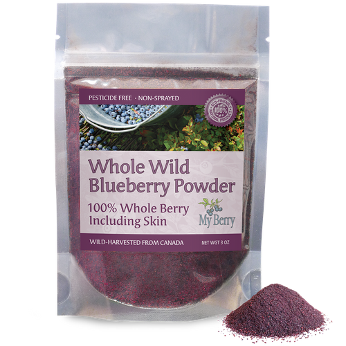 Whole Wild Blueberry Powder, 3oz