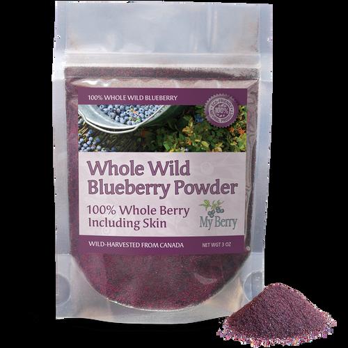Whole Wild Blueberry Powder, 3oz