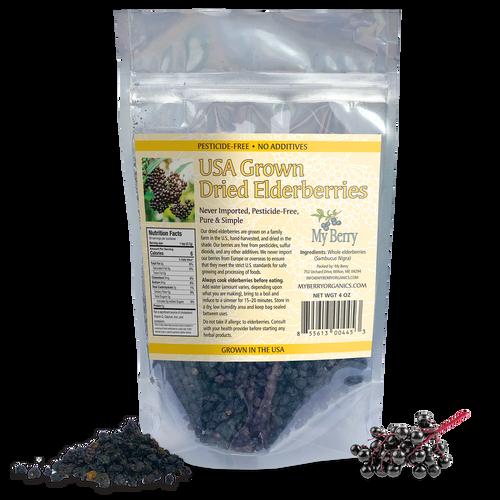 USA Dried Elderberries