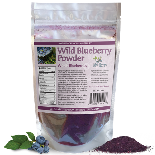 Wild Blueberry Powder 6oz