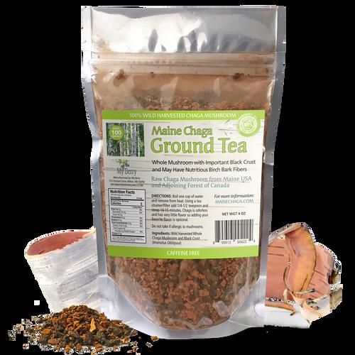 Maine Chaga Ground Tea