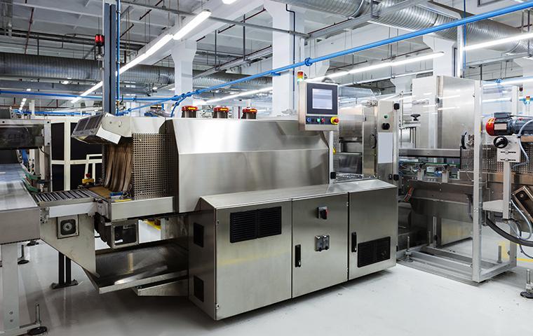 interior of a manufacturing facility in santa clarita california