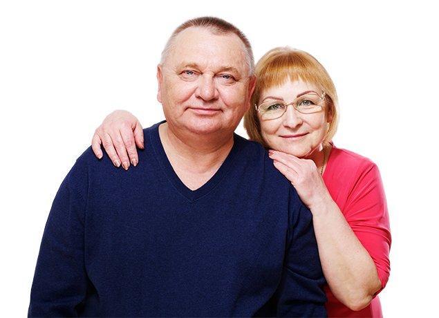 a happy married couple in roanoke virginia