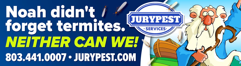 jury pest noahs ark termite billboard
