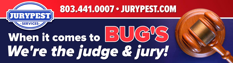 jury pest judge and jury billboard