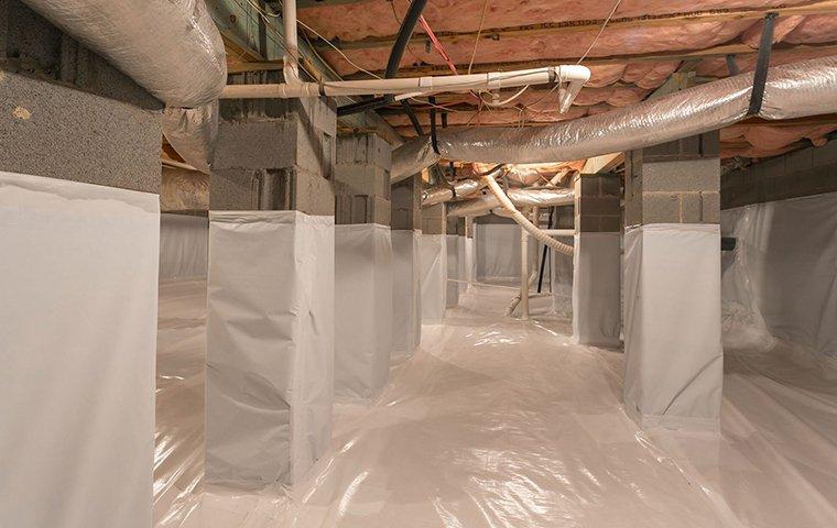moisture in basement inside a home in richland county south carolina