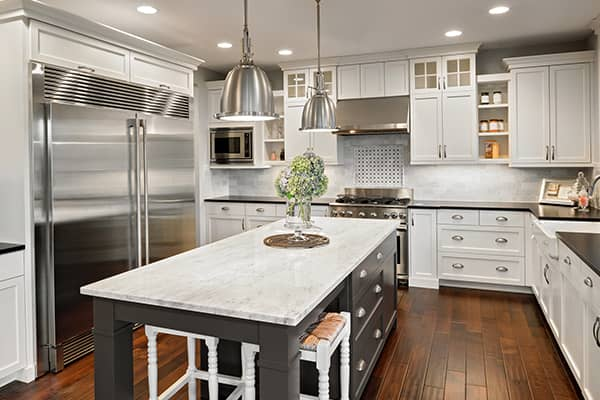 clean kitchen in siesta key florida