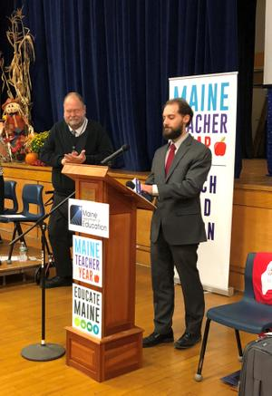 Piscataquis Community High School Teacher Named Maine 2019 Teacher of the Year