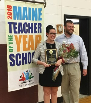 2018 Maine Teacher of the Year Announced
