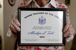 A Visit with 1972 Maine Teacher of the Year Mrs. Todd