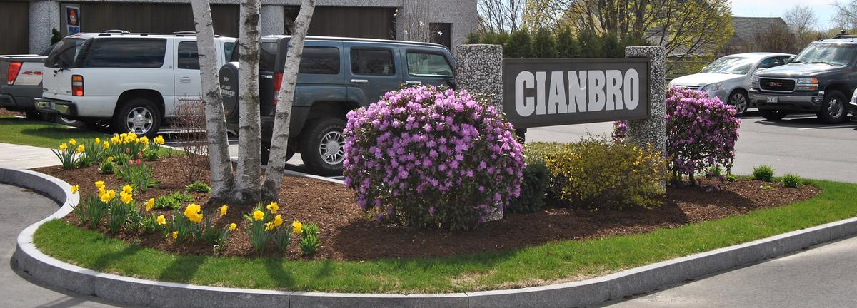 Cianbro landscaping work