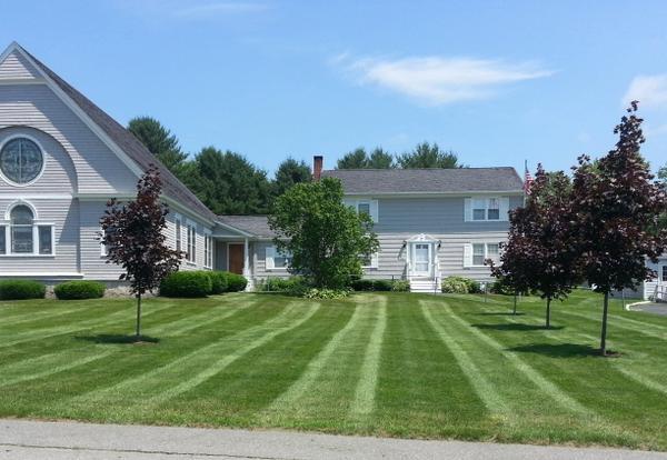 Lawn at St. Agnes