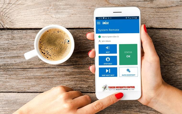 imist app on phone