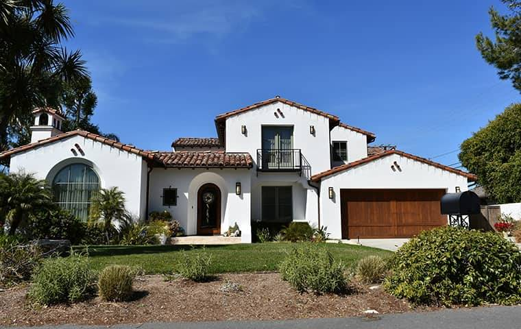 a home in burbank california