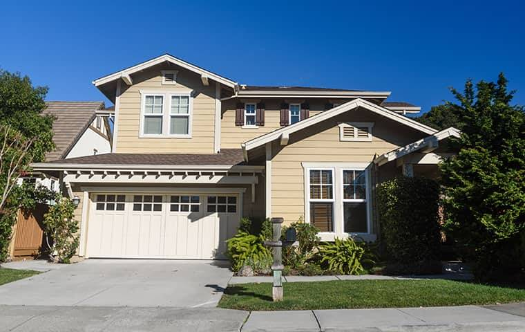 street view of a home in north hills california