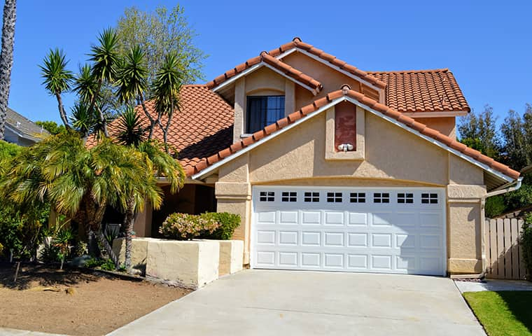 front of a house in simi valley