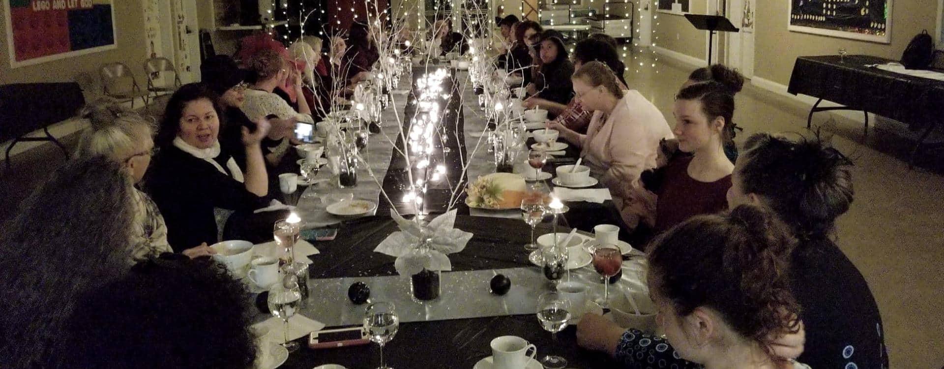 ladies christmas tea in ellsworth maine