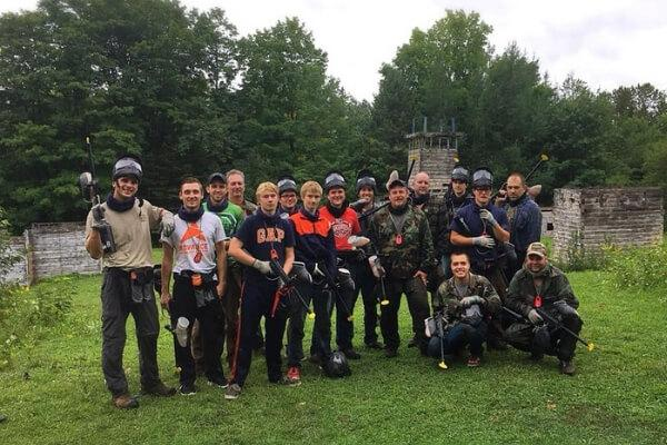 church paintball outing