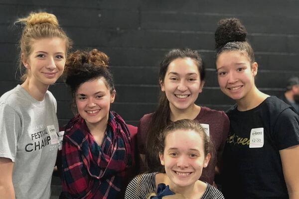 teens having fun at youth group in ellsworth