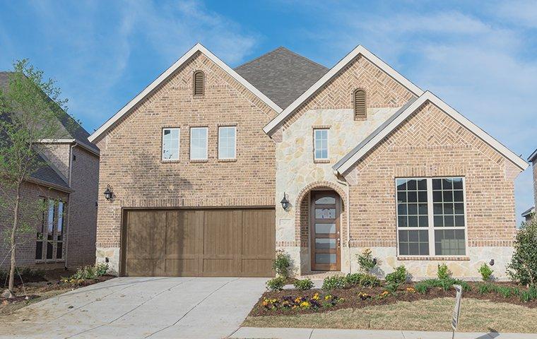 the exterior of a home in denton texas