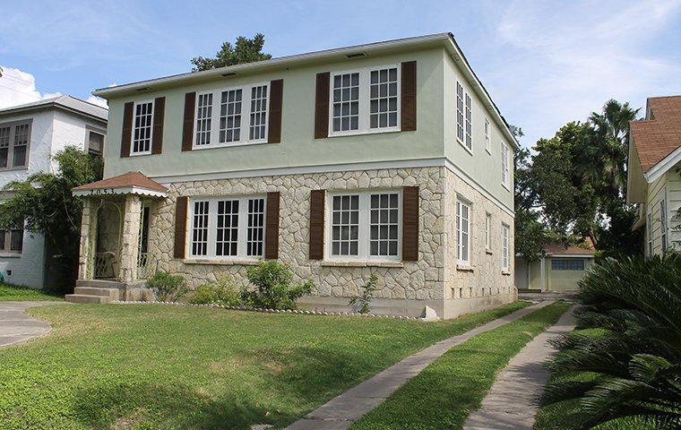 the exterior of a home in frisco texas