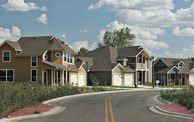 a residential neighborhood in mckinney texas