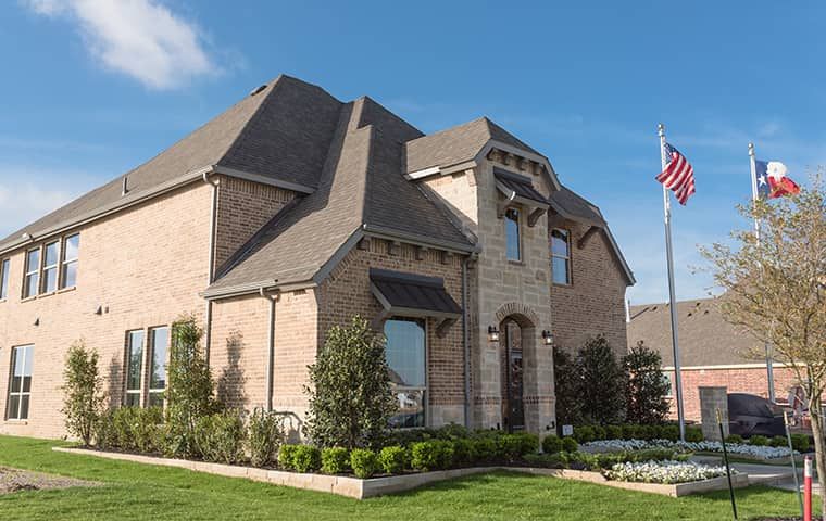 the exterior of a home serviced by addison pest control of texas in celina