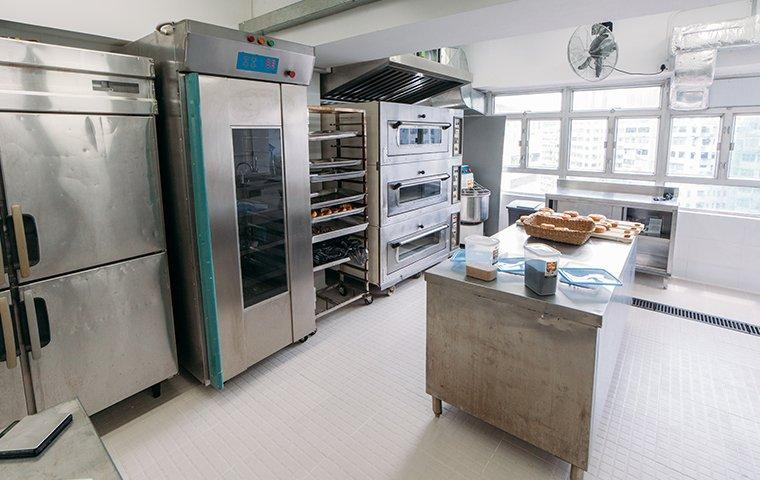interior of a commercial kitchen in hendersonville north carolina