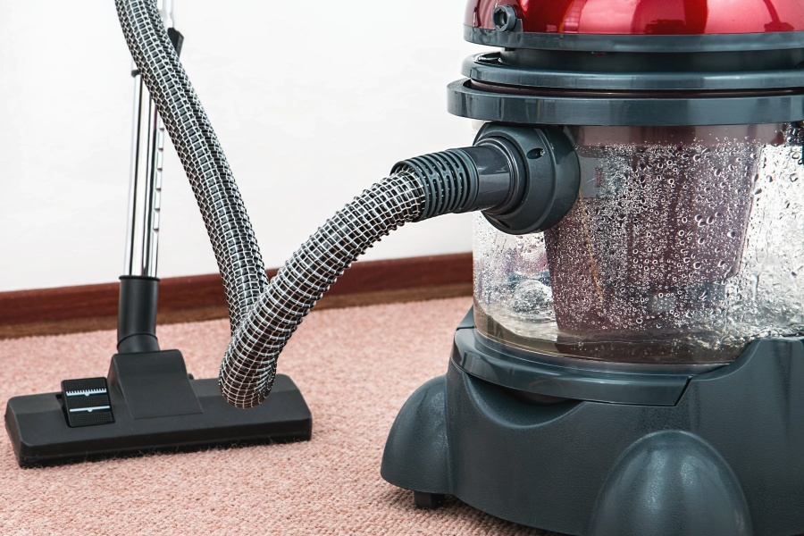 A vacuum - a device you can use to get rid of moths