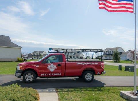 thomas pest control truck