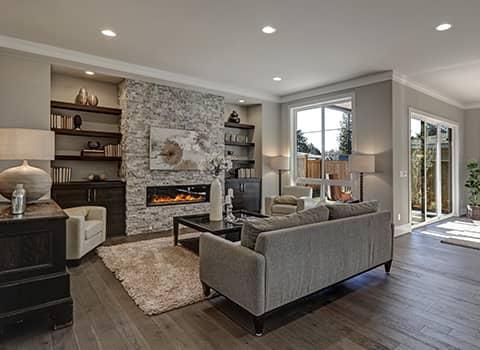living room in ballston lake ny