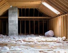 attic in a new york home