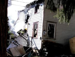 House fire in Hudson Valley