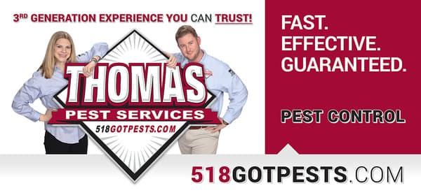 thomas pest services new billboards