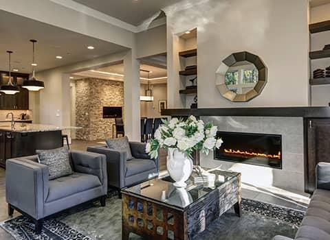 living room in ballston new york