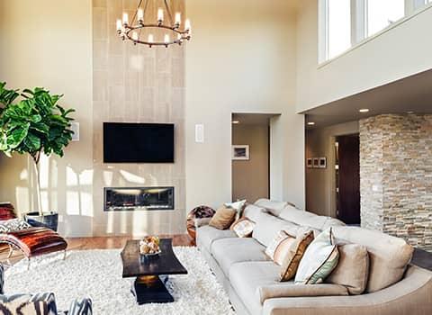 living room in halfmoon ny