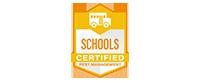 Schools Certified
