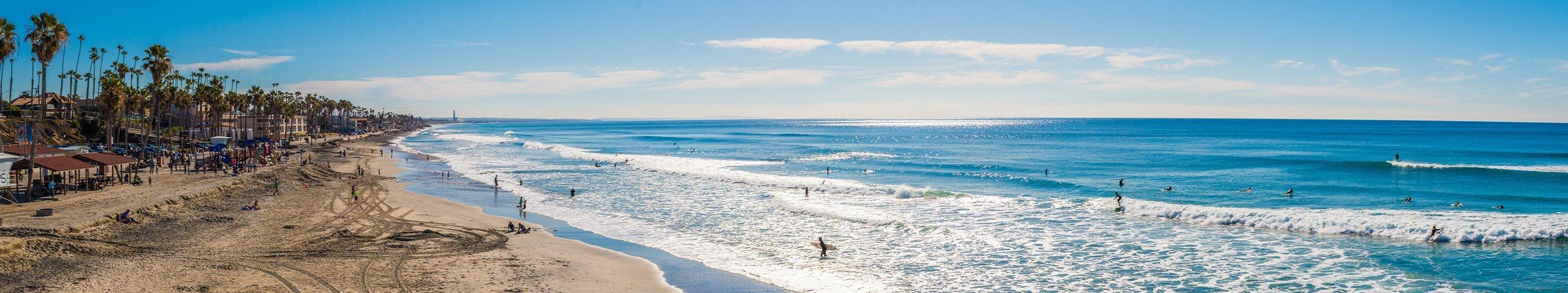 view of a beach in south san diego california