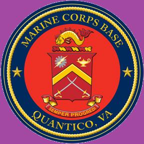 quantico marine base logo