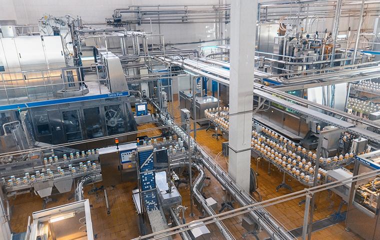 interior of a food processing plant in elizabeth city north carolina