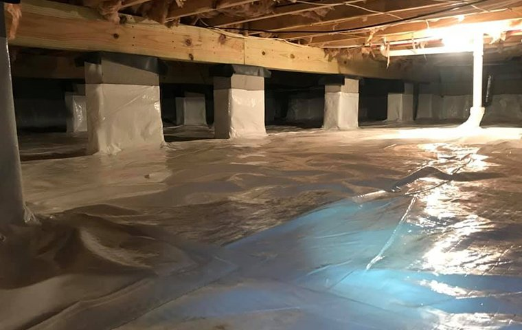 basement moisture encapsulation for an ahoskie north carolina home