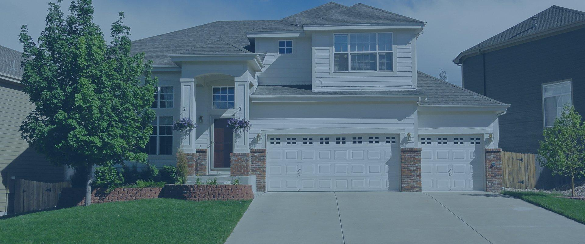 nice home with paved driveway