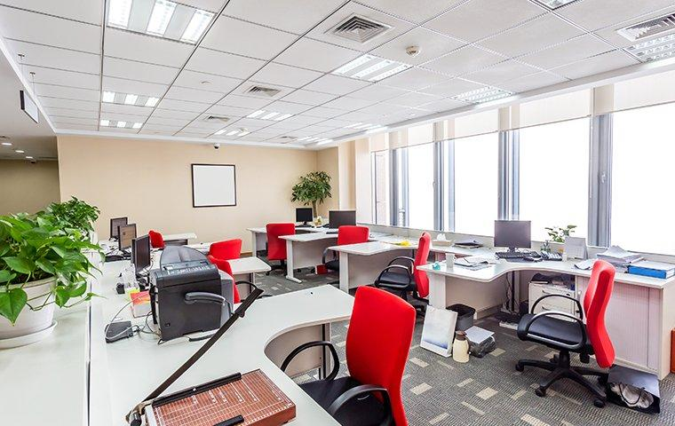 interior of an office space in baldwin florida