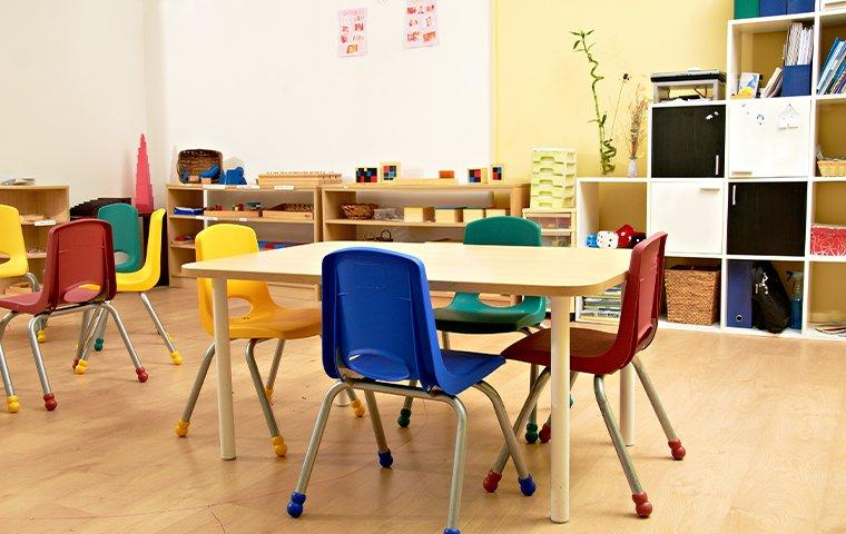 interior view of a classroom in bostwick florida