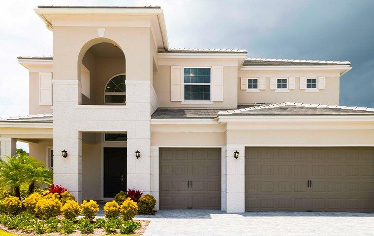 street view of a modern home in bostwick florida