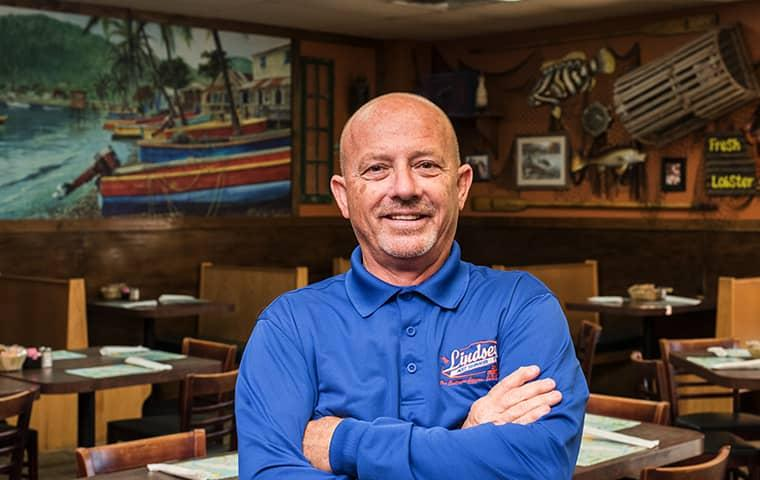 a technician in a lakeside florida restaurant
