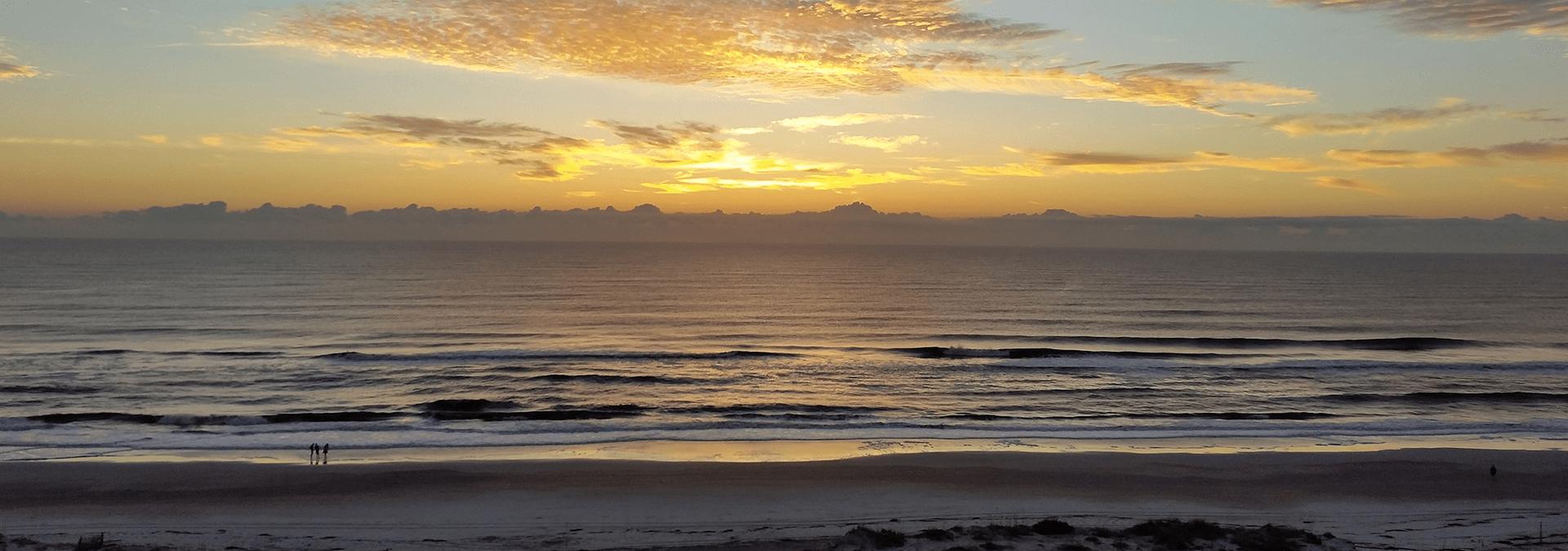 sunset in amelia island fl