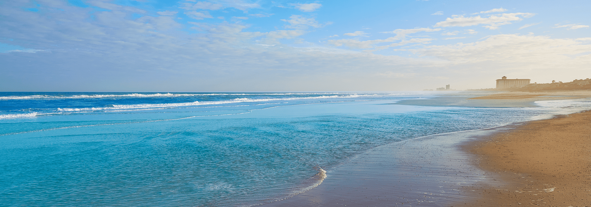 the shoreline of atlantic beach florida