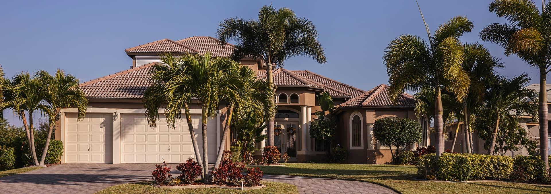 street view of a home in fleming island florida