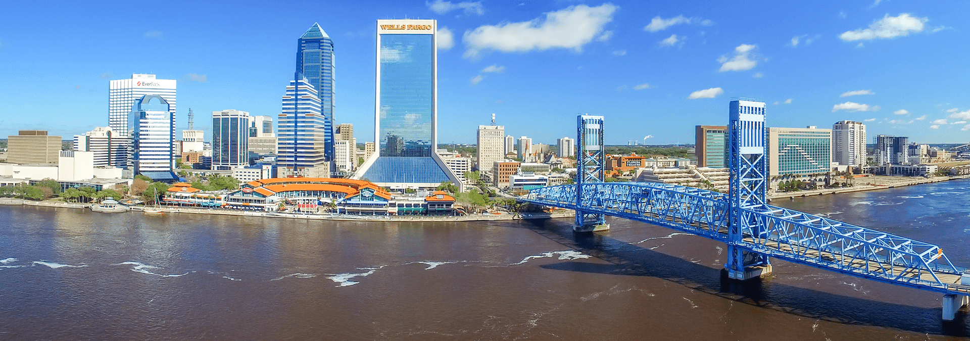aerial view of jacksonville florida